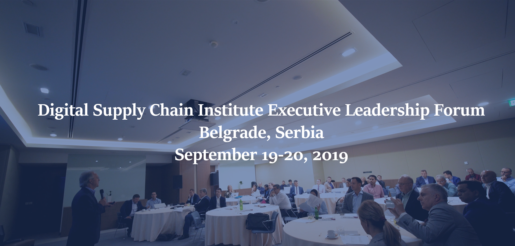 See how the DSCI collaborates with supply chain leaders from across the world