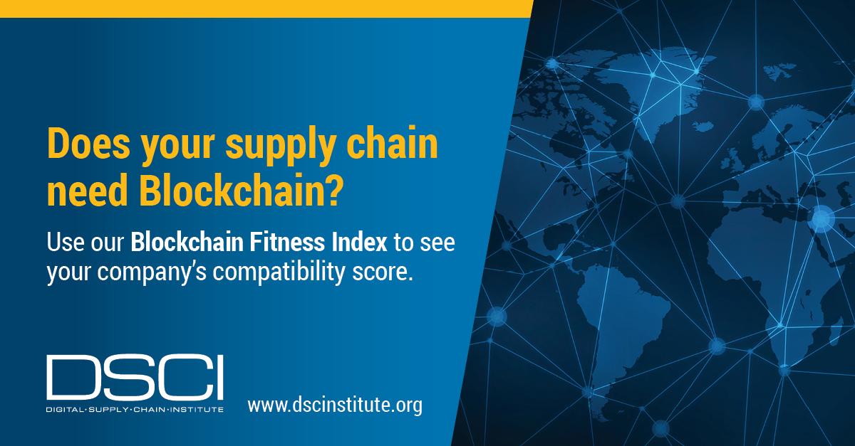Use DSCI Blockchain Fitness Index (BFI) To See Your Company's Compatibility Score