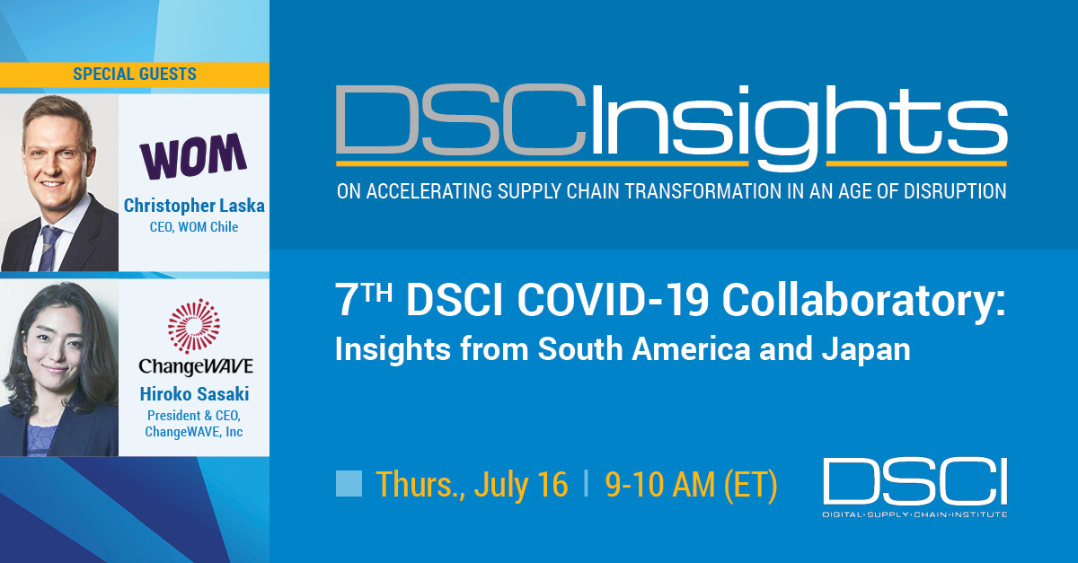NEW DSCI COVID-19 Collaboratory: Insights from South America and Japan