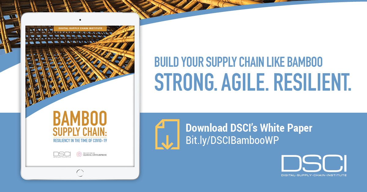 DSCI Releases New Whitepaper: Resilient Supply Chain Like Bamboo
