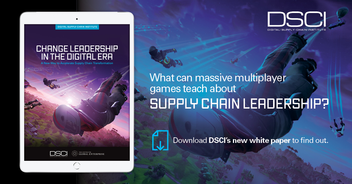 DSCI's Latest White Paper: Multiplayer Game Approach to Change Leadership