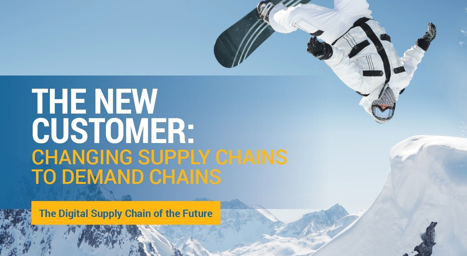 "DSCI Releases ""The New Customer: Changing Supply Chains to Demand Chains"" White Paper"