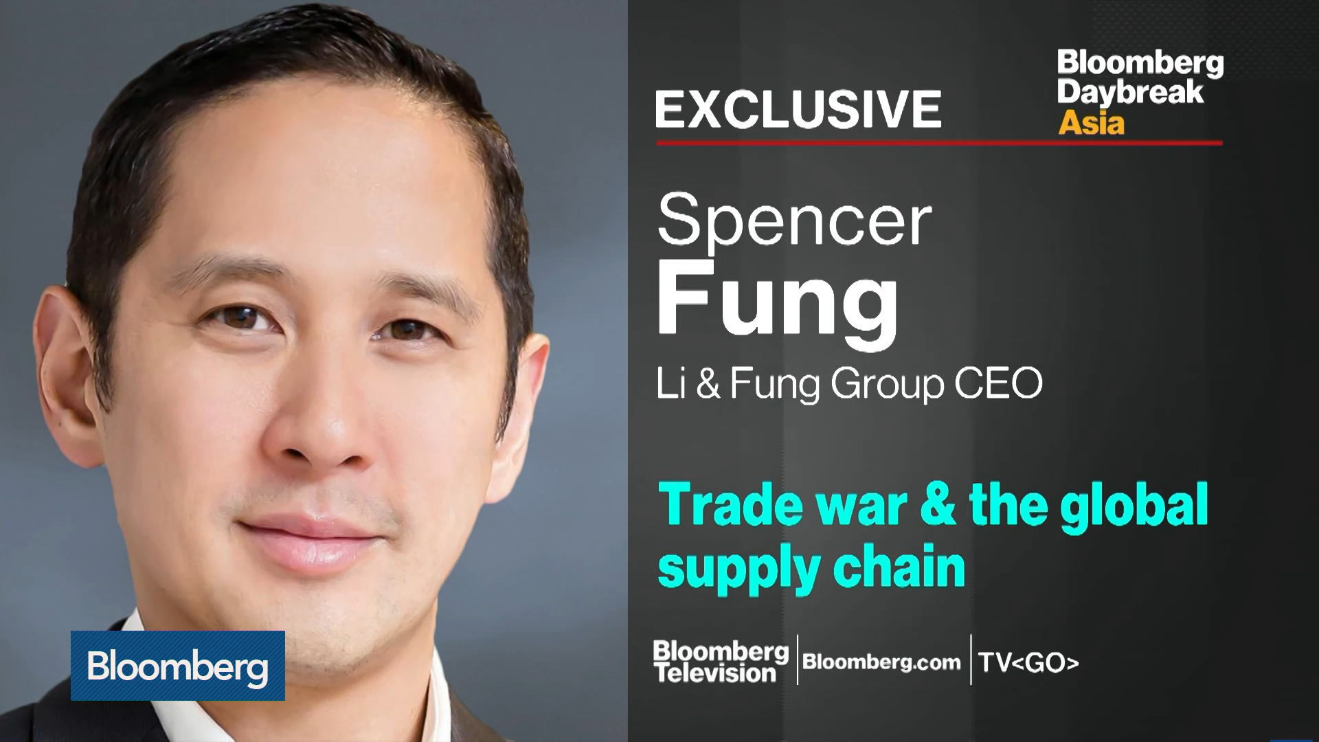 Li & Fung Group CEO Discusses Supply Chain Disruptions