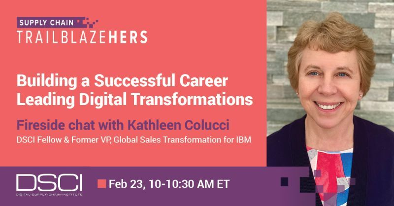 Watch Fireside Chat w/ Kathleen Colucci: Building a Successful Career, Leading Digital transformations.