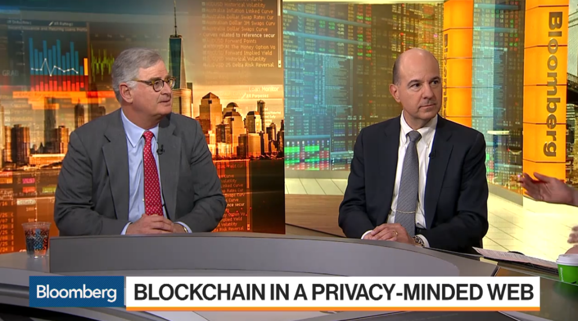 New DSCI Blockchain and GDPR white paper on Bloomberg TV