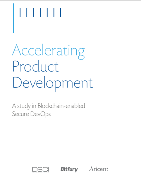 Accelerating Product Development: A study in Blockchain-enabled Secure DevOps