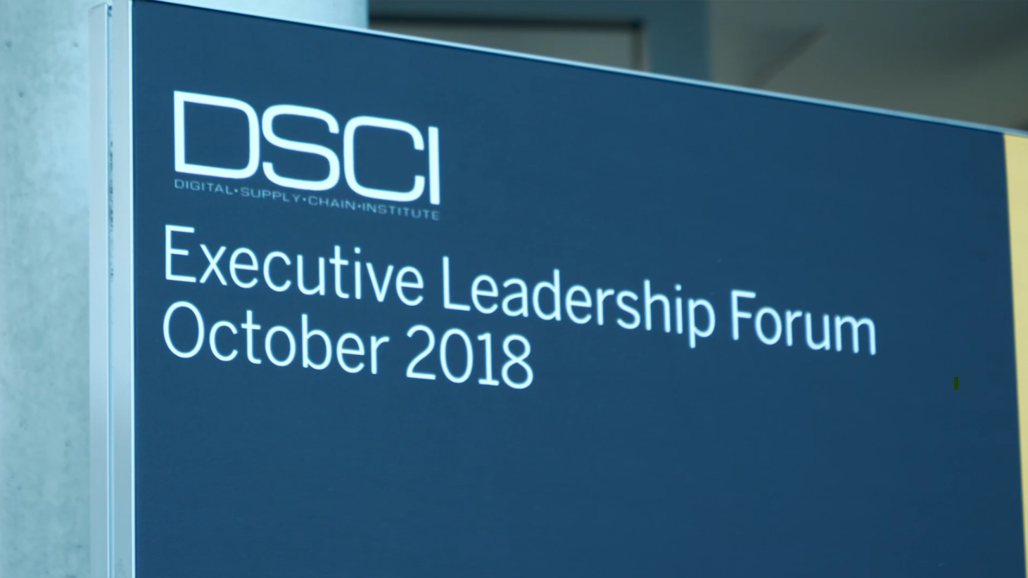 Digital Supply Chain Management: See how the DSCI collaborates with supply chain leaders from across the world